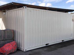 LKW / Schiffcontainer neu lackiert